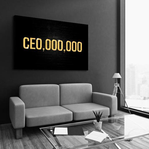 CE0,000,000 - Canvas Print USA