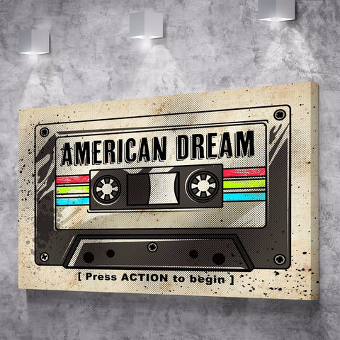 American Dream - Canvas Print USA