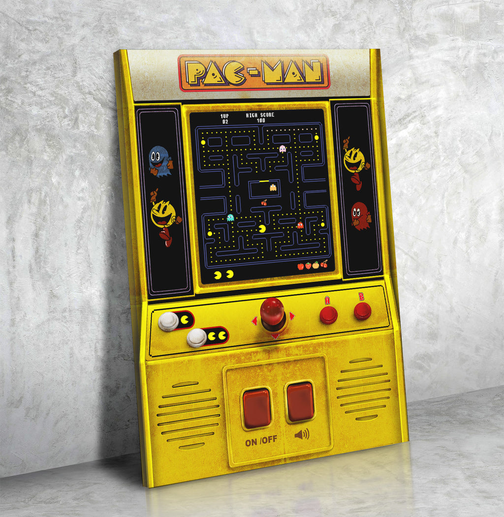 PAC-MAN Handheld - Canvas Print USA
