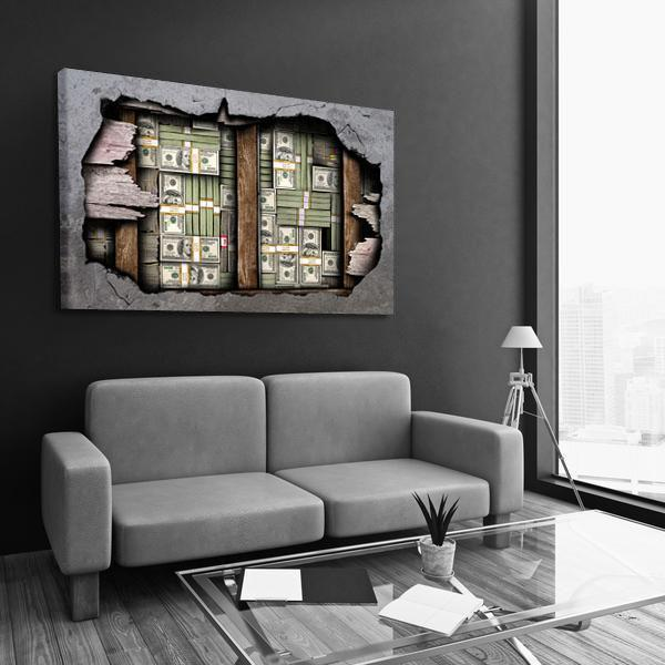 Wall Stash - Canvas Print USA