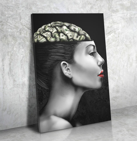 Money On My Mind - Canvas Print USA