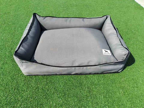 Premium Luxebed  -  Grey with Black Trim #315