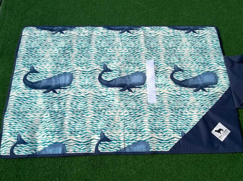 Travel Mat Whale 34x52 Inches