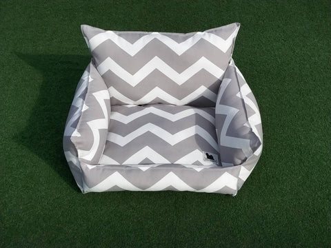Cloudbed - Grey Chevron #209