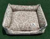 Premium Luxebed XS  - Beige and White Arabesque #472