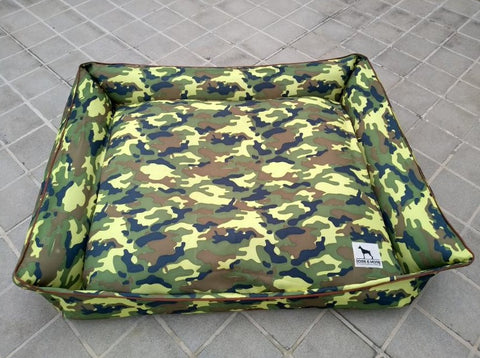 Sale Price 2880 Pesos (discount will reflect upon check out)  40% Clearance Display Item XL  Green Army 40 x 48 Inches with removable zippered cover