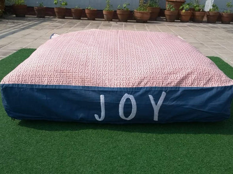 Sale Price 1977 Pesos (discount will reflect upon check out)  40% Clearance Display Item JOY Giant Floor Pillow 40 x 40 Inches with removable zippered cover