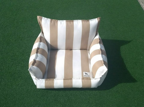Cloudbed - Beige with White Stripes  #4