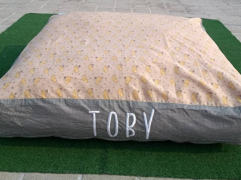 Sale Price 1977 Pesos (discount will reflect upon check out)  40% Clearance Display Item TOBY Giant Floor Pillow 40 x 40 Inches with removable zippered cover