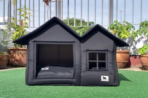 Posh Pillow House Deluxe XL - All Black