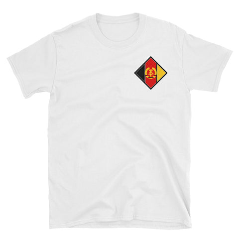 White NVA Aircraft T-Shirt with small logo
