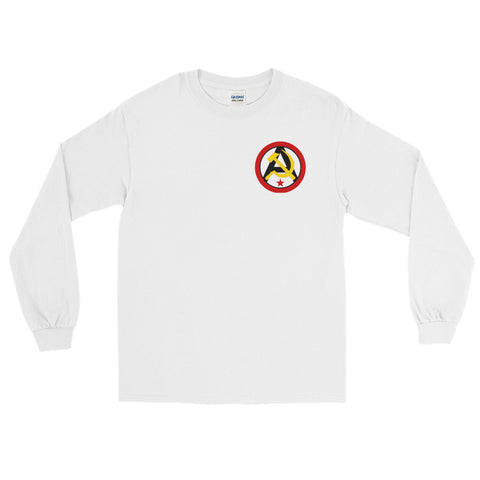 White Anarcho Communist Long Sleeve
