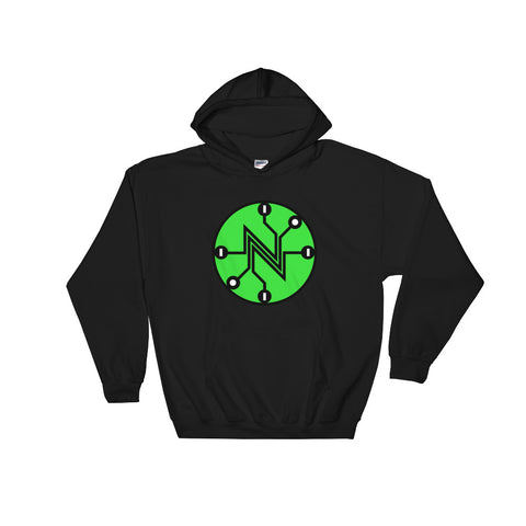 Big Net Neutral Circuit Hoodie black