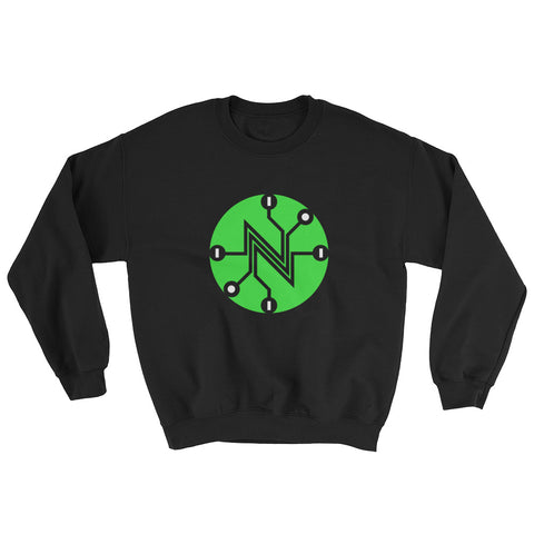 Big Net Neutral Circuit Sweatshirt black