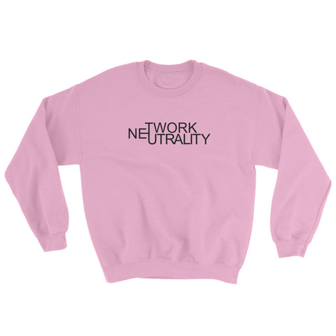 Internet Neutrality Sweatshirt pink