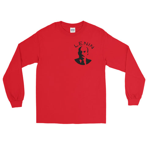red The Lenin Long Sleeve tshirt