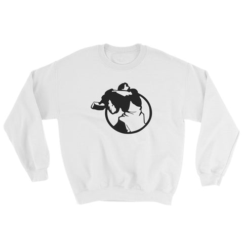 white Big Worker Sweatshirt