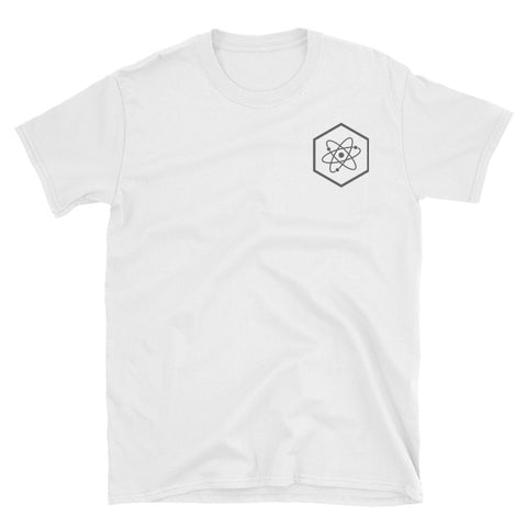 White Atomic T-Shirt techno communism