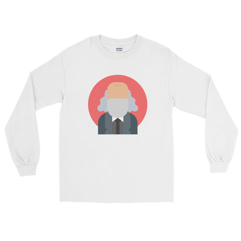 white Commie Long Sleeve commie shop