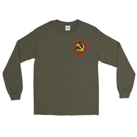 Green Anarcho Communist Long Sleeve