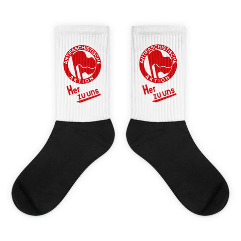 Anti Fascist Action Socks