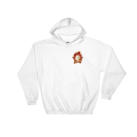 white Young Pioneer Hoodie leninism