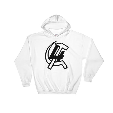 Leon Trotsky 4 international Hoodie white