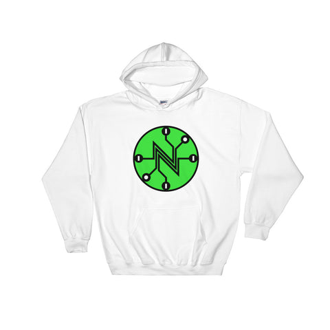 Big Net Neutral Circuit Hoodie white