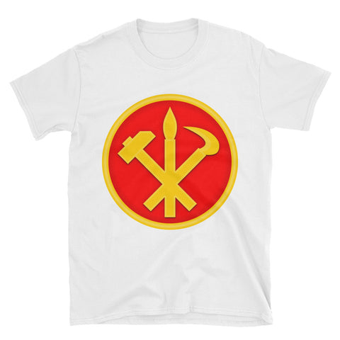 White North korea Juche tshirt