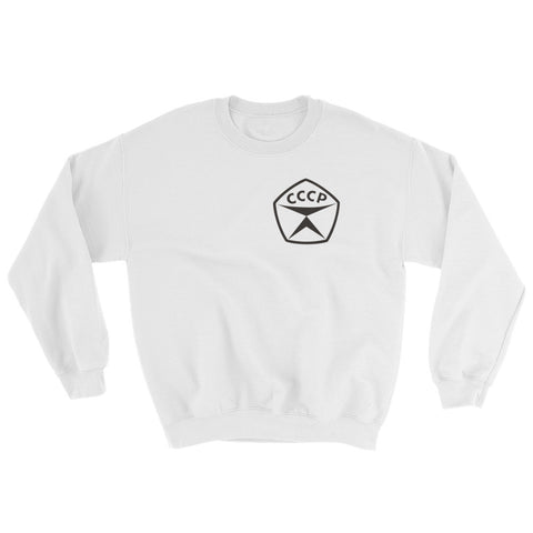 CCCP sweatshirt with a CCCP seal of quality