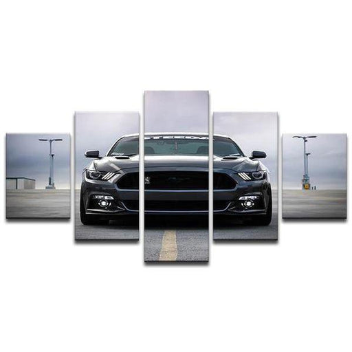 2014 Mustang Cobra Jet Canvas Wall Art