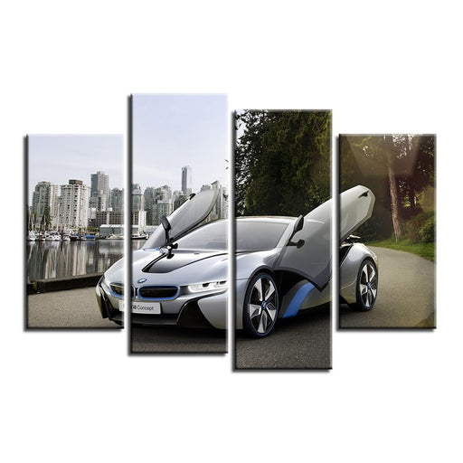 2015 BMW i8 Canvas Art