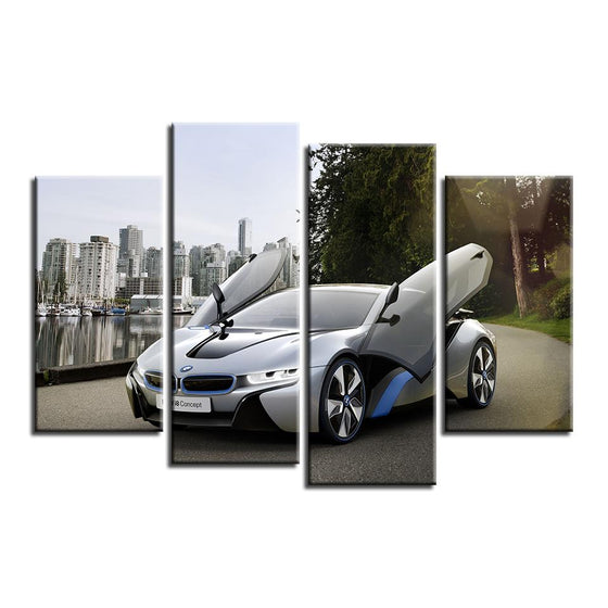 2015 BMW i8 Canvas  Wall Art