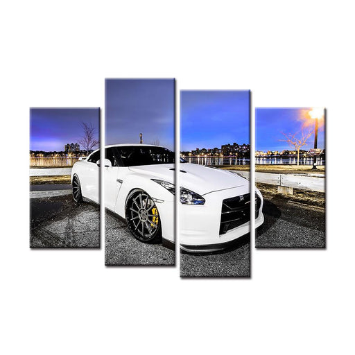 2018 Nissan GT-R Canvas Art