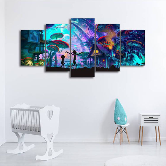 Rick & Morty Wall Art Ideas