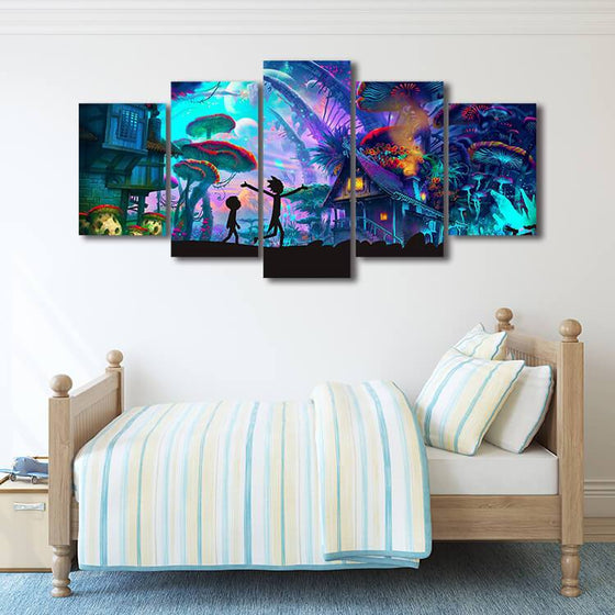 Rick & Morty Wall Art Print