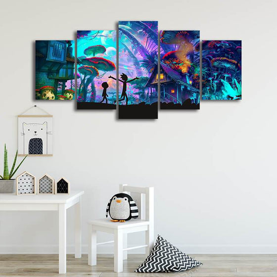 Rick & Morty Wall Art Prints
