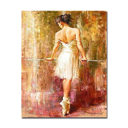 Ballet Dancer - DIY Painting by Numbers Kit