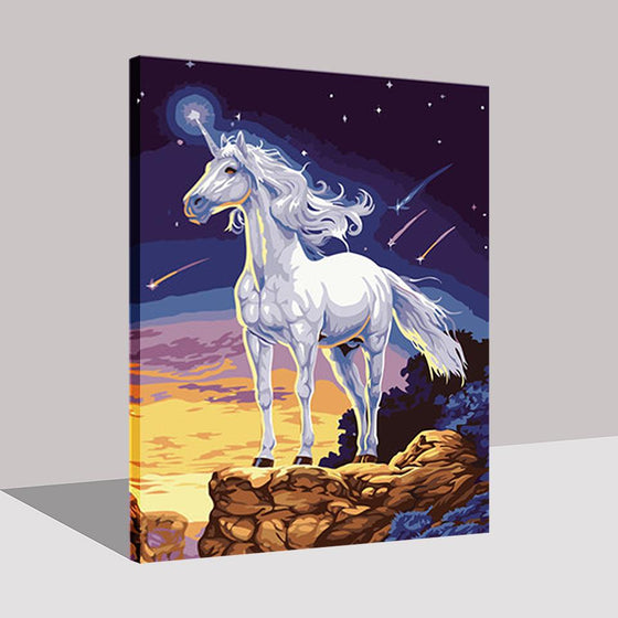 Magical Unicorn - DIY Painting by Numbers Kit