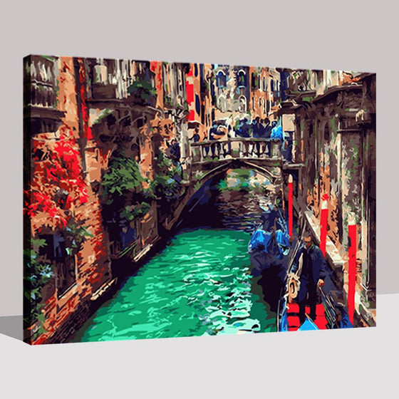 Water City of Venice - DIY Painting by Numbers Kit