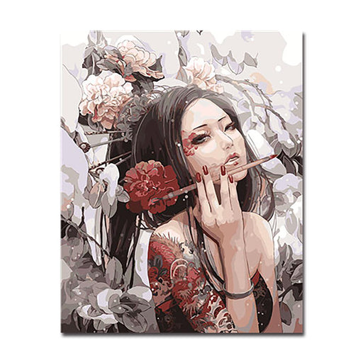Anime Beauty - DIY Painting by Numbers Kit