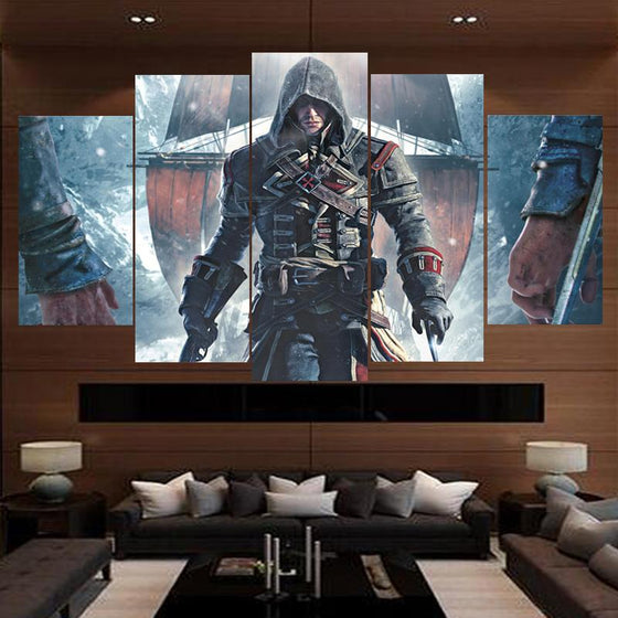 Assassins Creed Inspired Canvas Wall Art