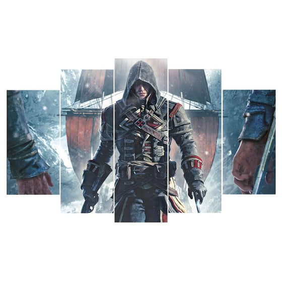 Assassins Creed Inspired Canvas Wall Art Prints