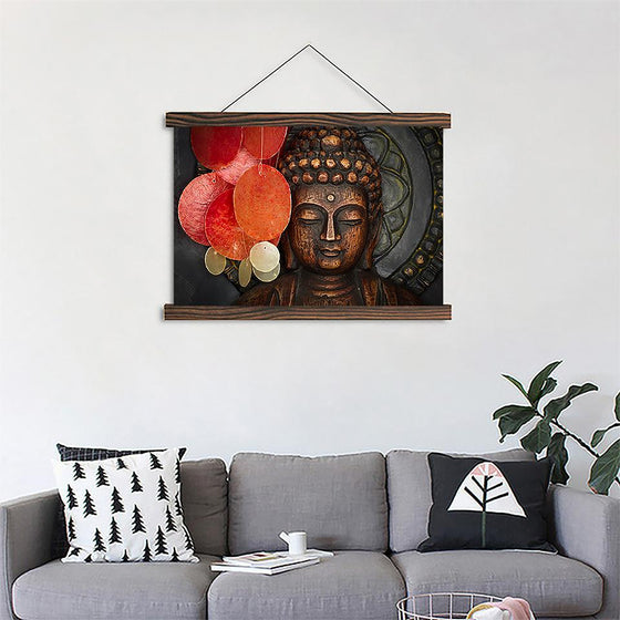 Zen Buddhism 2 - Canvas Scroll Wall Art