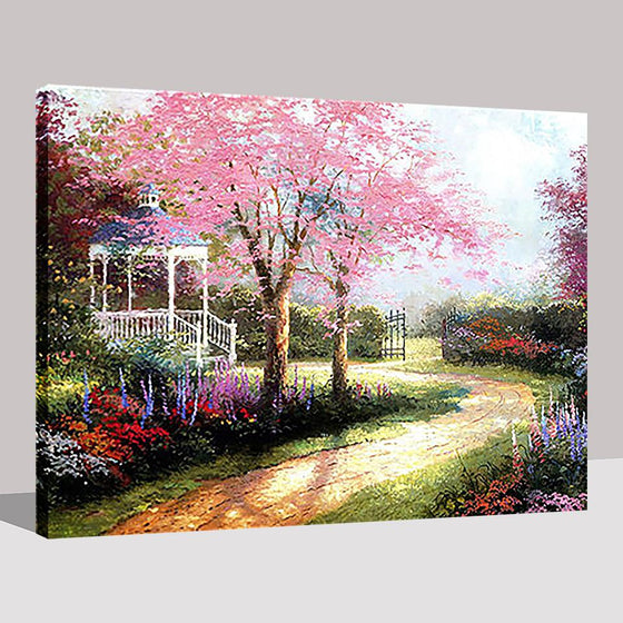 Beautiful Garden Dream Path - DIY Painting by Numbers Kit