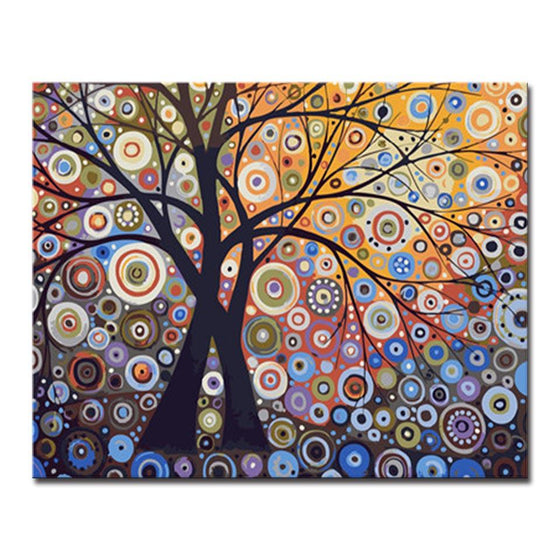 Dazzle Light Tree - DIY Painting by Numbers Kit