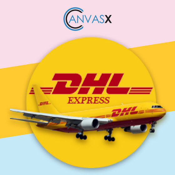 Canvasx DHL Express Shipping