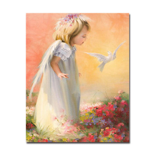 Painting by Numbers Figures Canvas Wall Art | DIY Figures Painting ...