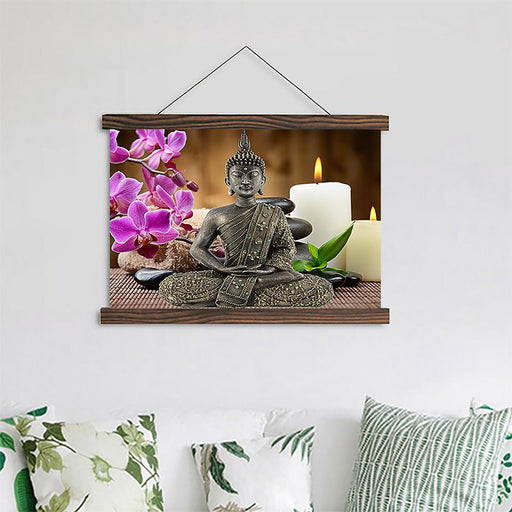 Buddha Zen - Canvas Scroll Wall Art