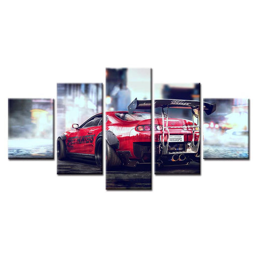 NFS Toyota Supra Canvas Art